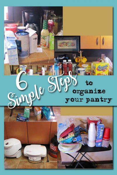 6 Steps Pantry