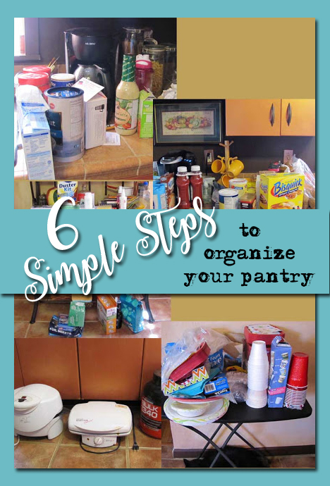 6 Steps to Organizing A Pantry Closet From the Door to the Floor
