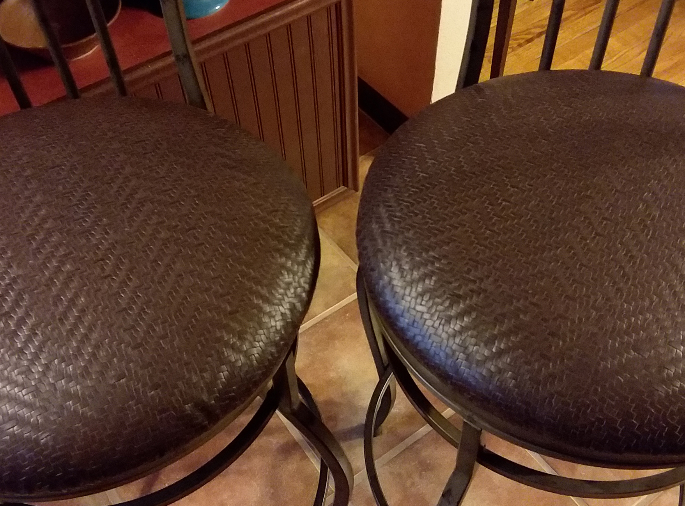 How to Re-cover Bar Stool Seats – Easy Project
