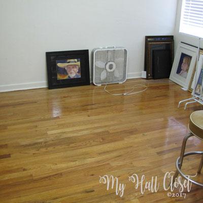 Wide open studio space