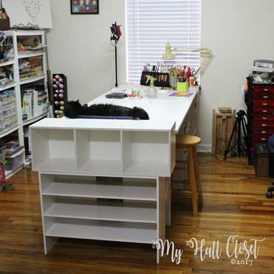 Create a Creative Space, My Uncluttered Studio
