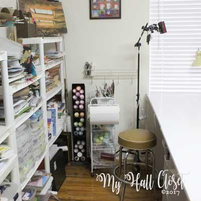 Studio remodel vintage stool