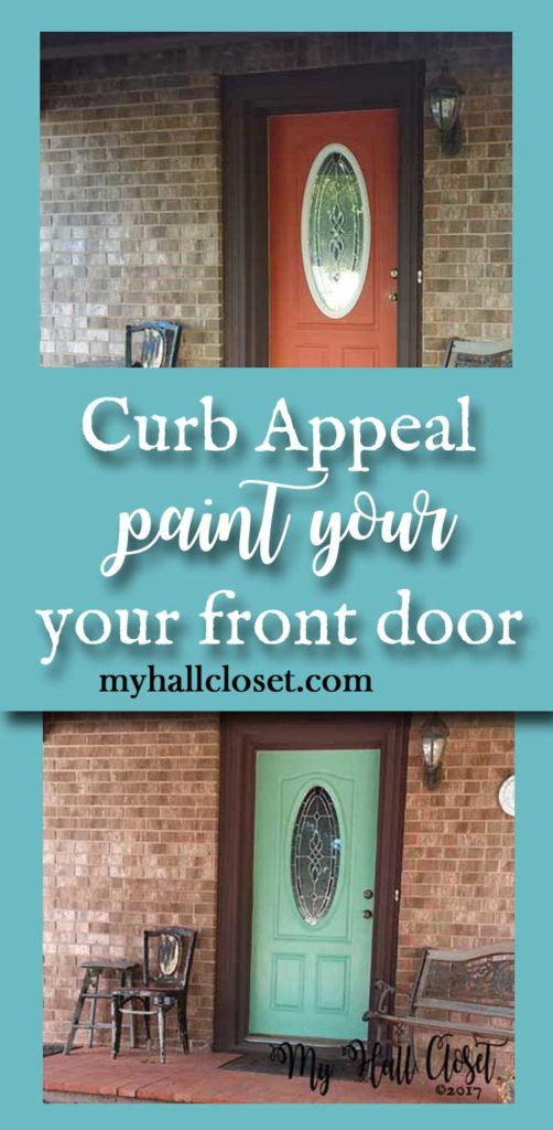 curb appeal paint your front door