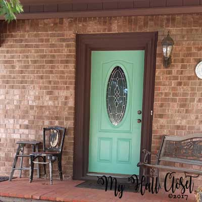 Improve Your Curb Appeal – Paint the Front Door