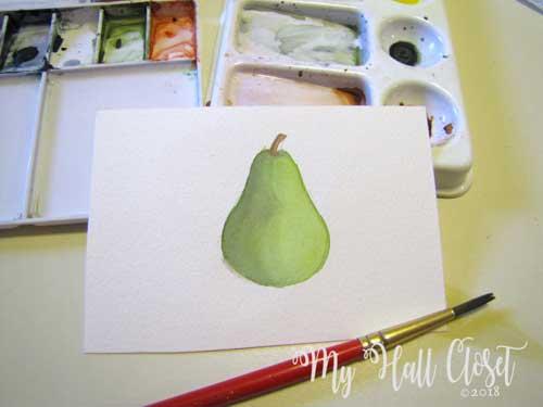 pear and shadows 3