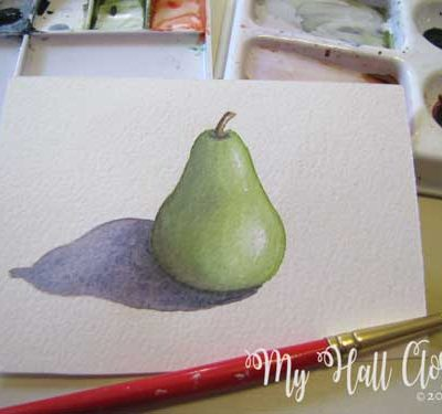 pear and shadow finishing