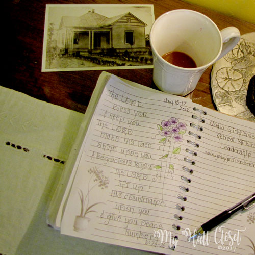 B and B guest book