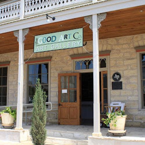 Good Art Co. Art Gallery Fredericksburg, TX