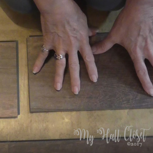 How to install click lock vinyl flooring