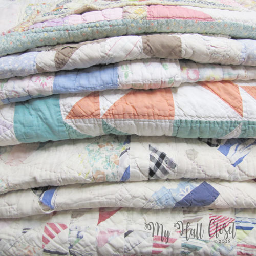 Vintage Quilts, A Prayer and A Trip Down Memory Lane