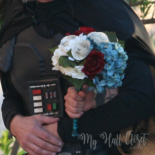 Bouquet May the 4th Wedding