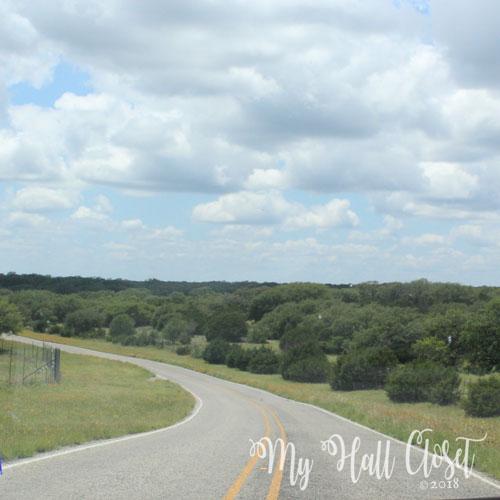 Highway 39 Winding road