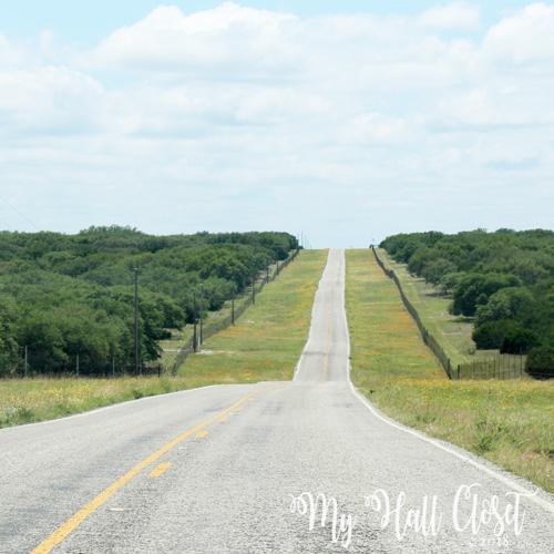 highway 39 winding roller coaster road