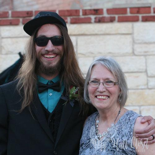 Baby Bird and his mama May the 4th Wedding