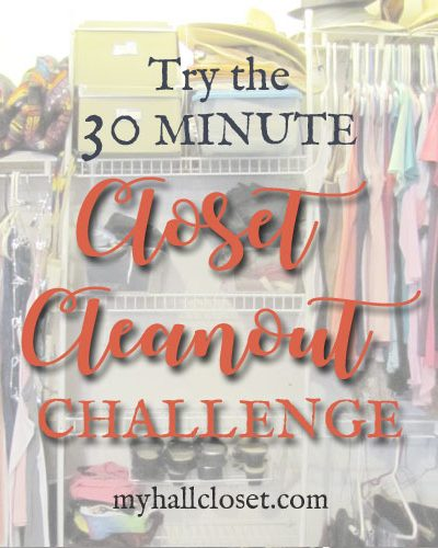 closet cleanout challenge feature