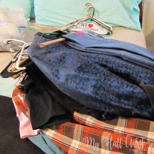 closet cleanout challenge