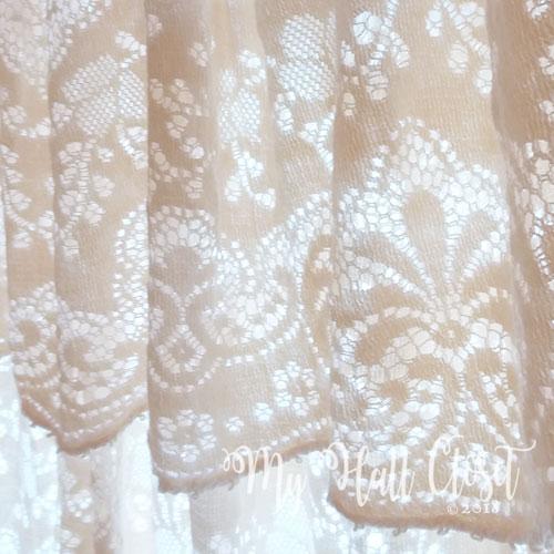 lace table cloth curtain