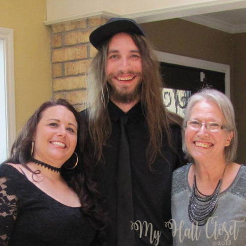 Baby Bird, His Lady and his mama shower for May the 4th Wedding