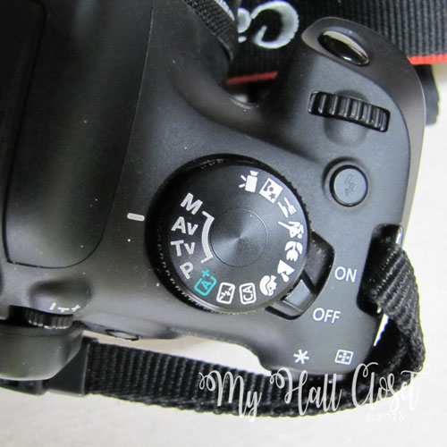 Canon Camera AV Mode