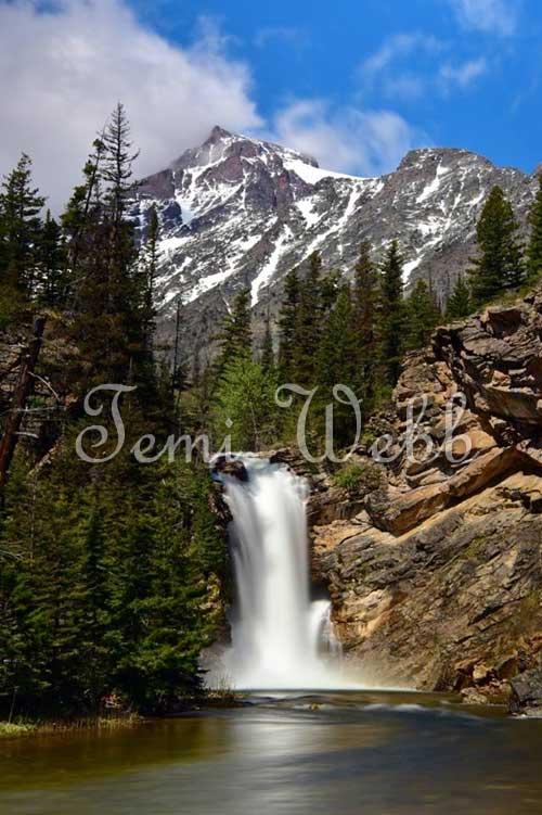 Temi's photography waterfall