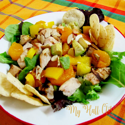 Grilled Chicken and Mandarin Orange Salad