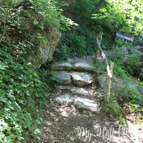 Lost Maples Stone stairs