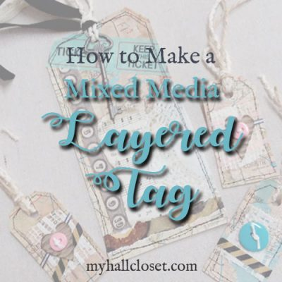 How to Make Mixed Media Layered Map Tags for Junk Journals