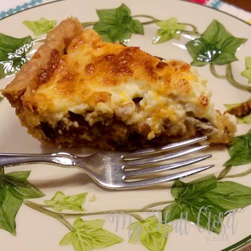 Tomato Pie so delicious
