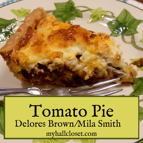 Tomato Pie Recipe – One Dish Southern Recipe