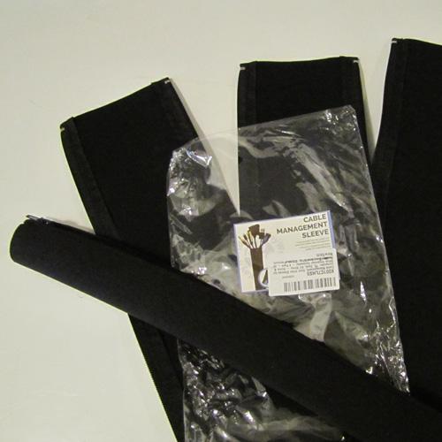 Cord hider sleeves