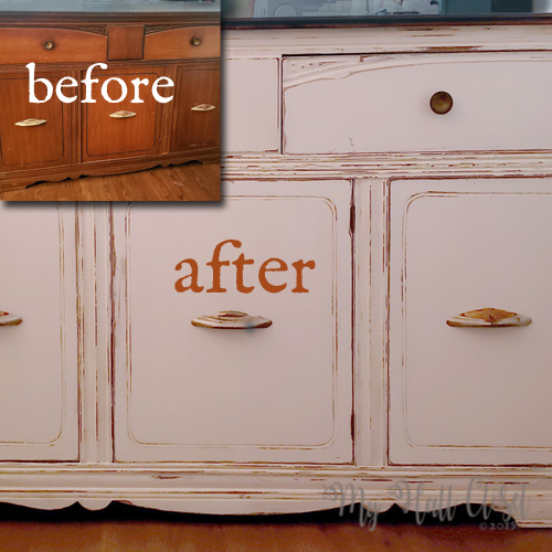 How to Transform a Vintage Buffet
