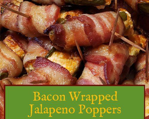 Bacon Wrapped Jalapeno Recipe | Baked Jalapeno Poppers | Bacon Appetizer