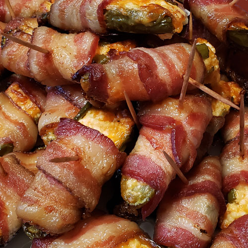 Bacon Wrapped Jalapeno Recipe | Baked Jalapeno Poppers | Bacon Appetizer