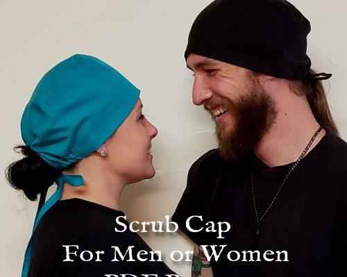 My Hall Closet Scrub Cap for Men and Women Pattern