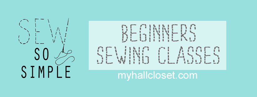 Sew so Simple Beginner's sewing classes