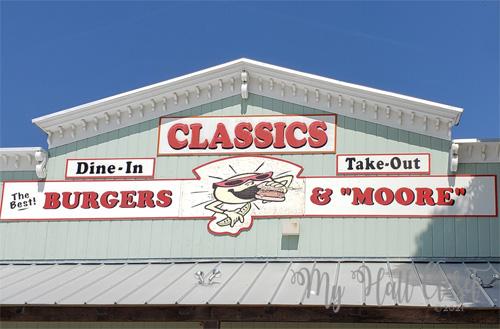 Classics Burgers and Moore, Kerrville,TX